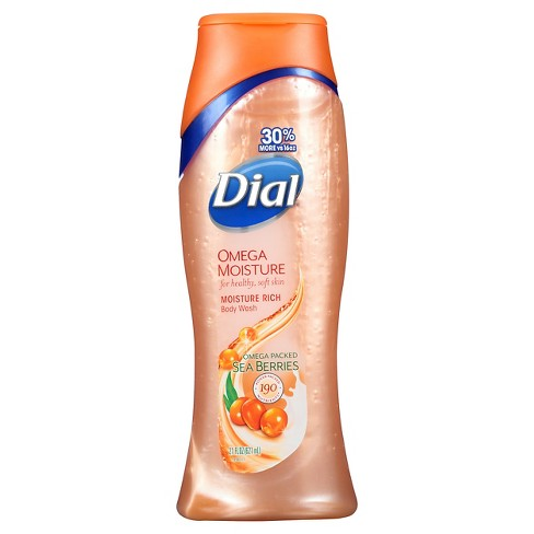 Dial Omega Moisture Body Wash- 21oz - image 1 of 3