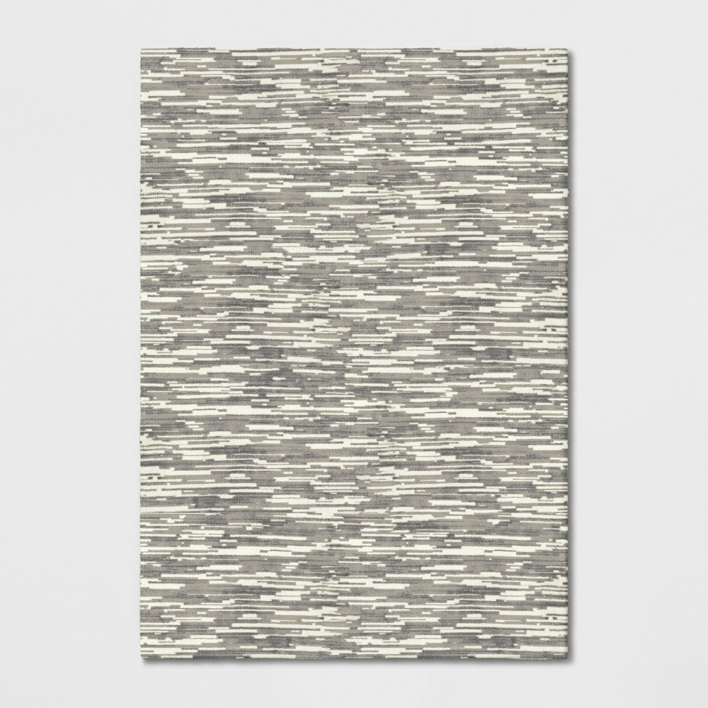 7'X10' Wave Tufted Area Rugs Beige - Project 62