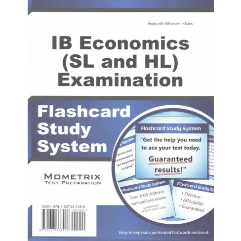 IB Economics (SL and HL) Examination Flashcard Study System (Mixed media  product)