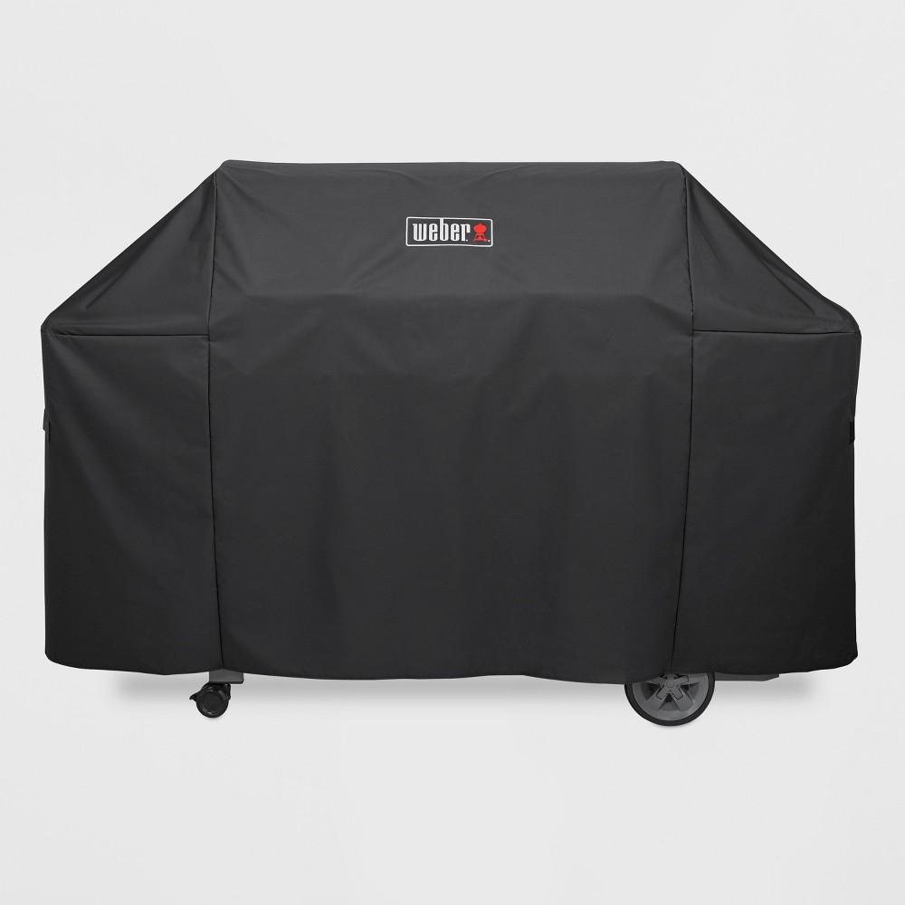 Weber Genesis II 6 Burner Premium Cover- Black 51818632