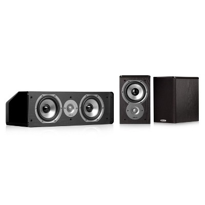 Polk Audio TSi100 3.0 Home Theater Speaker Bundle (Black)