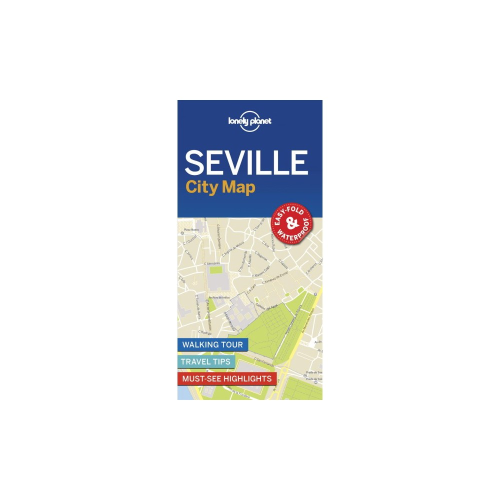 Lonely Planet Seville City Map - Map (Lonely Planet City Map) (Paperback)