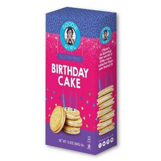 Goodie Girl Gluten Free Birthday Cake Creme Sandwich Cookies- 10.6oz