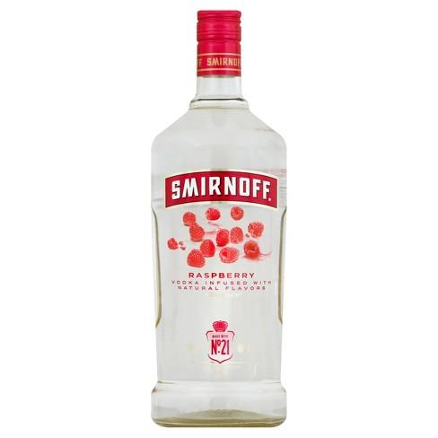 Smirnoff Raspberry Flavored Vodka - 1.75L Bottle - image 1 of 1