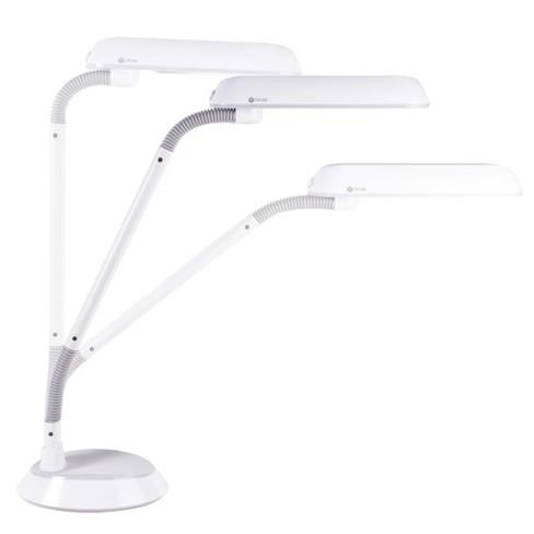 18w Flexarm Plus Refresh Table Lamp White Includes Energy Efficient