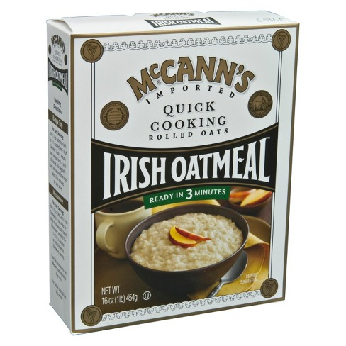 McCann's Quick Cooking Rolled Oats Irish Oatmeal - 16oz - image 1 of 1