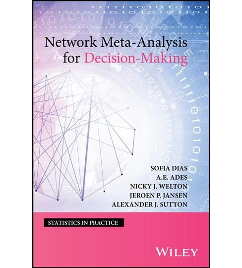 Network Meta-Analysis for Decision-Making -  (Hardcover) - image 1 of 1
