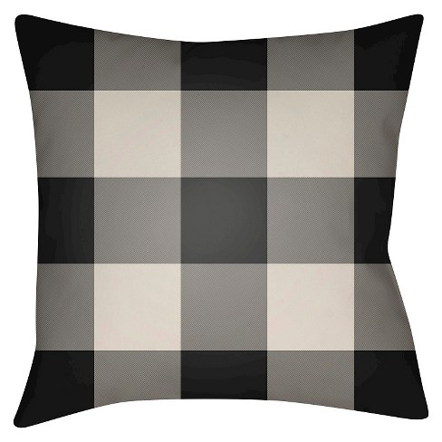 Flannel Throw Pillow - Surya - image 1 of 2
