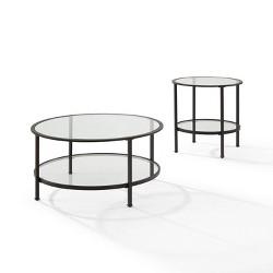 2pc Aimee Coffee Table Set - Crosley