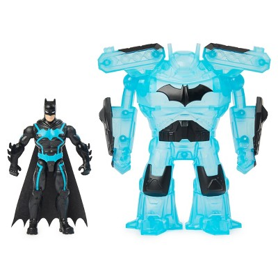 "DC Comics Batman Bat-Tech 4"" Deluxe Action Figure with Transforming Tech Armor"