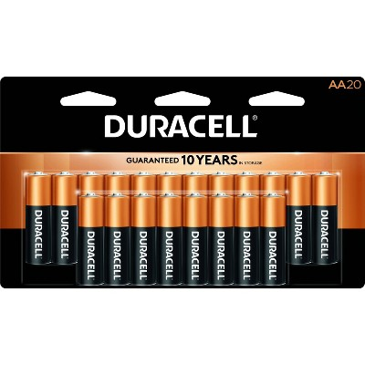 Duracell Coppertop AA Batteries 20ct