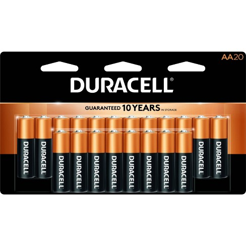 Duracell Coppertop AA Batteries - 20 Pack Alkaline Battery - image 1 of 4