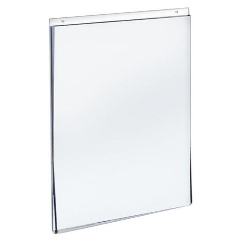 Azar 85 X 11 Wall U Frame Acrylic Sign Holder 10ct Target