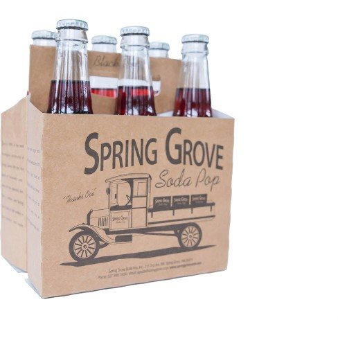 Spring Grove Black Cherry Soda - 6pk/12 fl oz Glass Bottles - image 1 of 3