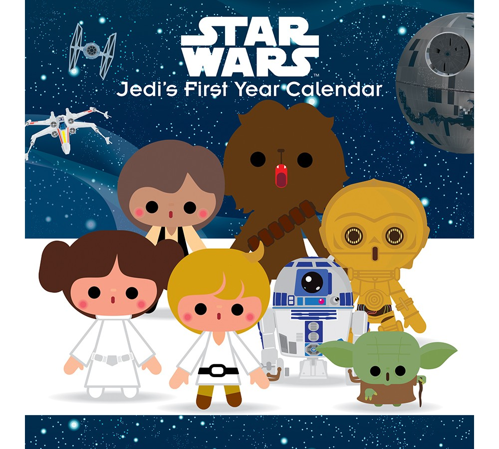 Image of 2018 Star Wars Perpetual Wall Calendar - Trends International, Multi-Colored