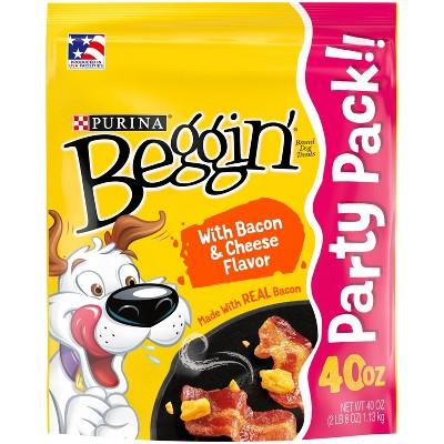 Purina Beggin' Strips Bacon & Cheese Flavor Dog Treats