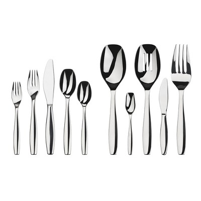 Gourmet Settings 45pc Stainless Steel Cruise Silverware Set
