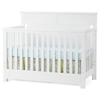 Child Craft Abbott™ 4-in-1 Convertible Crib - Matte White