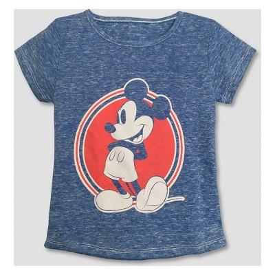 Toddler Girls Mickey Mouse Friends Minnie Short Sleeve T Shirt