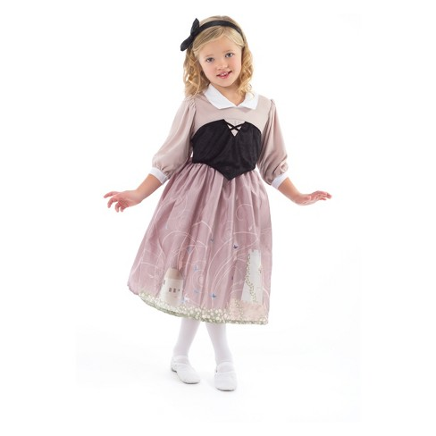 Little Adventures Child's Sleeping Beauty Day Dress with Headband - image 1 of 1