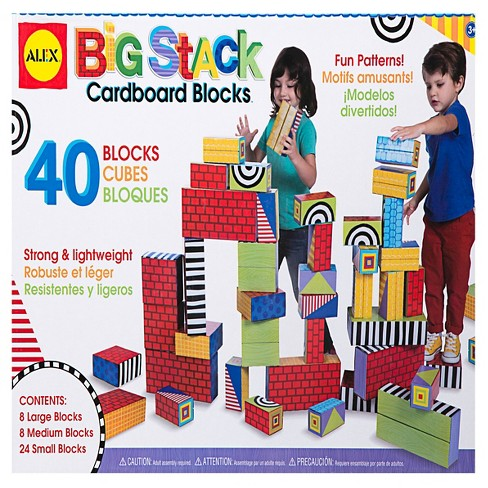 ALEX Toys Big Stack Cardboard Blocks - image 1 of 4