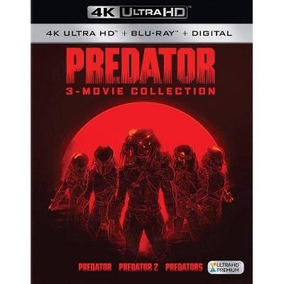 Predator / Predator 2 / Predators (4K/UHD)(2018)
