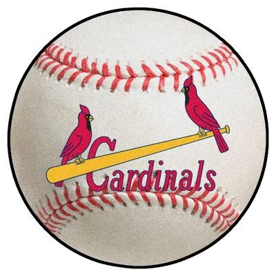 "MLB St. Louis Cardinals 1950 27""x27"" Retro Baseball Mat"