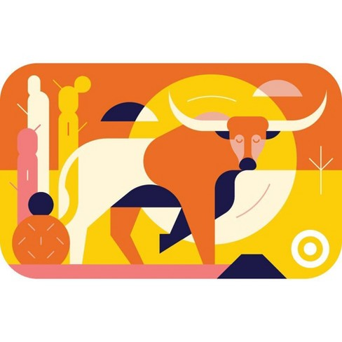 Texas Long Horn GiftCard - image 1 of 1