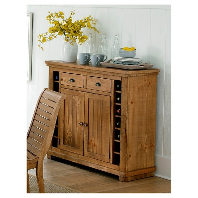 Willow Pine Server - Distressed Pine