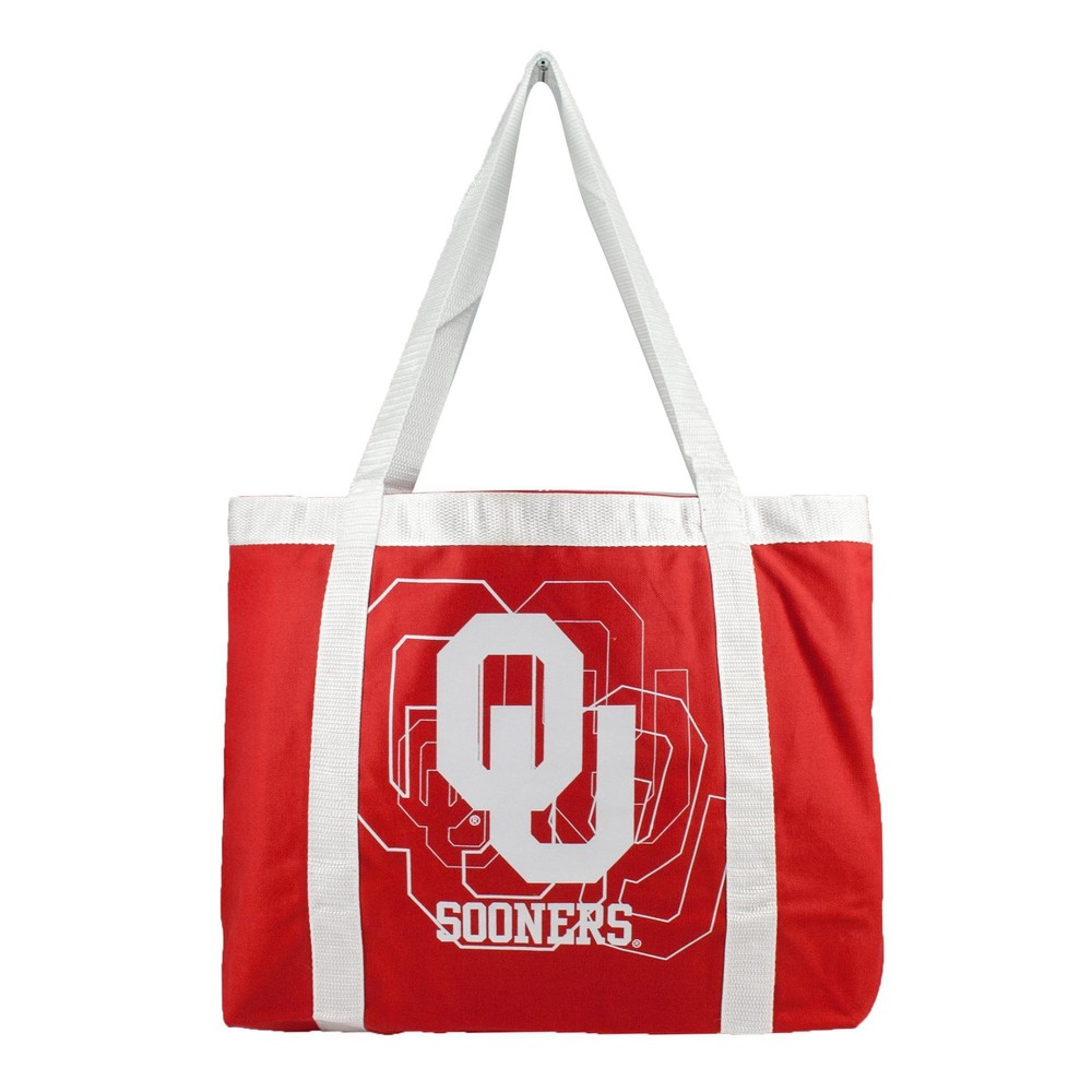 NCAA Oklahoma Sooners Little Earth Team Tailgate Tote, Adult Unisex