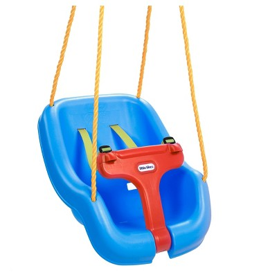Little Tikes 2-in-1 Snug 'n Secure Swing - Blue