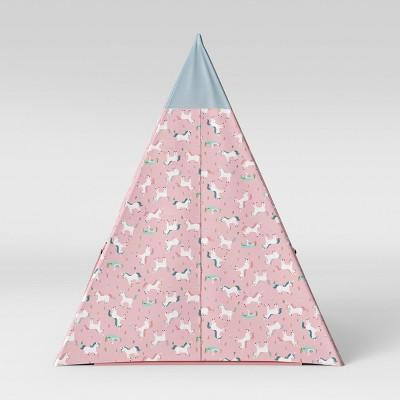 Kids Teepee Unicorns Pink/Blue - Pillowfort™