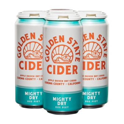 Golden State Mighty Dry Hard Cider - 4pk/16 fl oz Cans