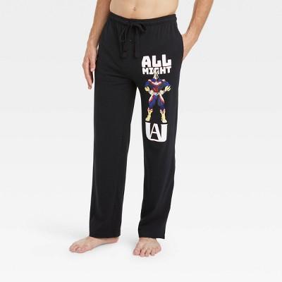 Men's My Hero Academia Pajama Pants - Black