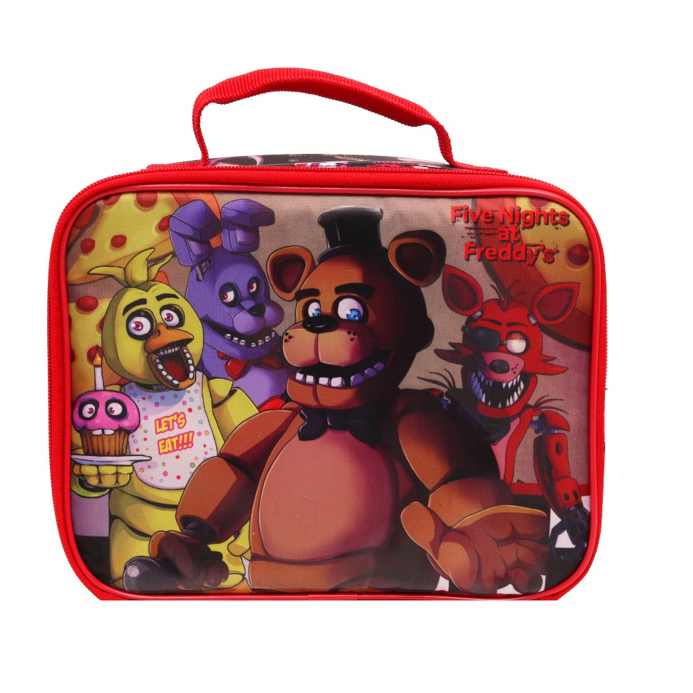 Image of Five Nights at Freddy's Fun Time Lunch Tote - Black