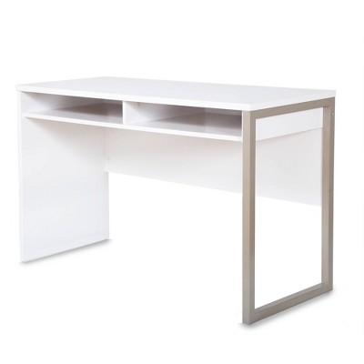Interface Desk Pure White - South Shore