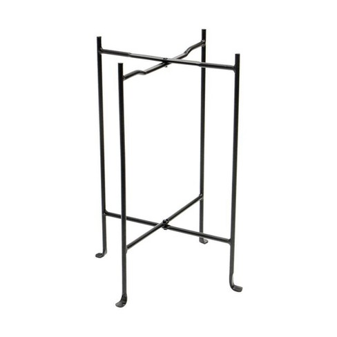 """23""""Square Wrought Iron Folding Multi Purpose Floor Stand - Achla Designs - image 1 of 2"""