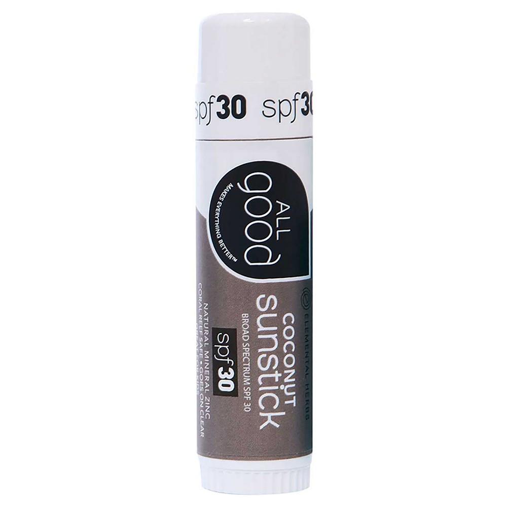 Image of All Good Coconut Sunstick - SPF 30 - 0.6oz