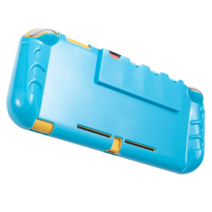 Protective Case For Nintendo Switch Lite 2019, Soft TPU Grip Cover With 4 Game Card Slots Holder, Comfort Ergonomic Handles By Insten : Target