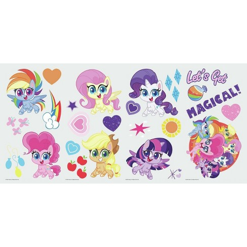 My Little Pony Let's Get Magical Peel and Stick Wall Decal - image 1 of 4
