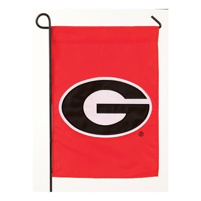 Georgia Bulldogs Applique Garden Flag