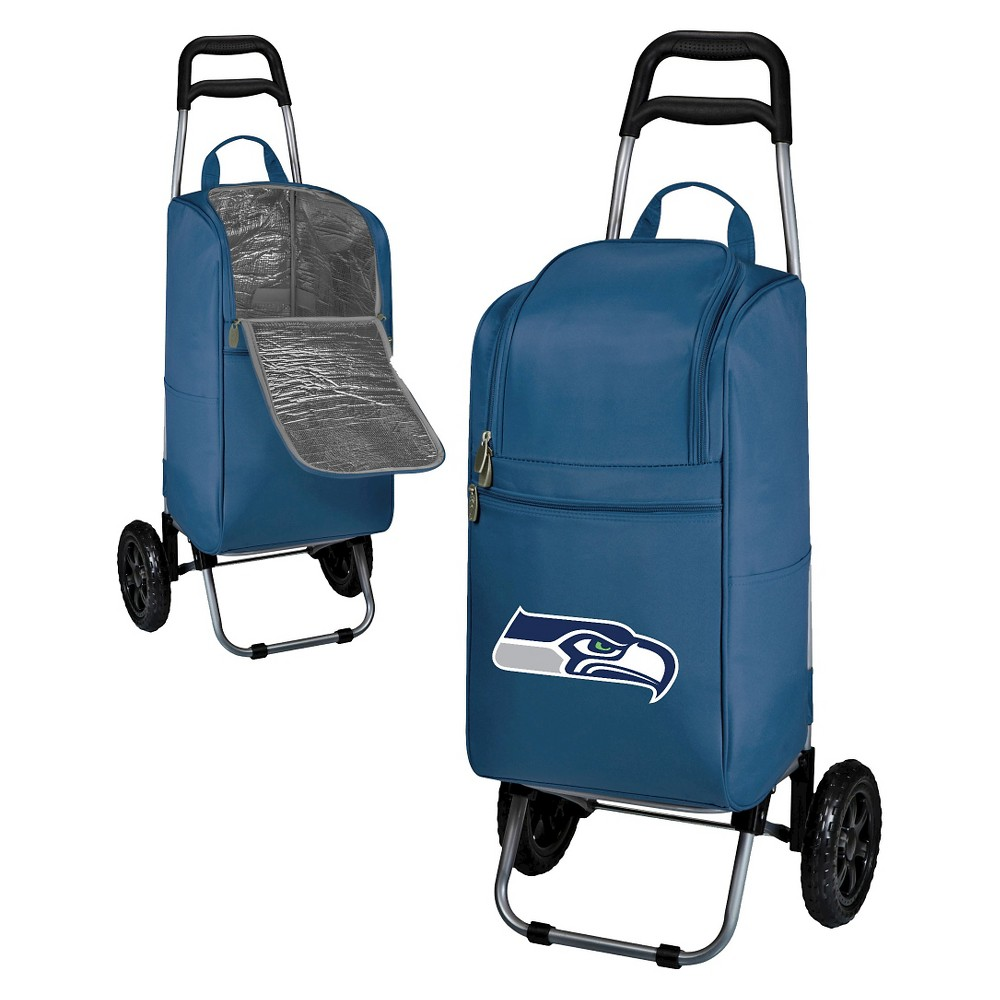 Seattle Seahawks Cart Cooler By Picnic Time Navy