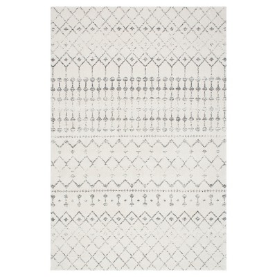 Sterling Gray Abstract Loomed Area Rug - (4'x6')- nuLOOM