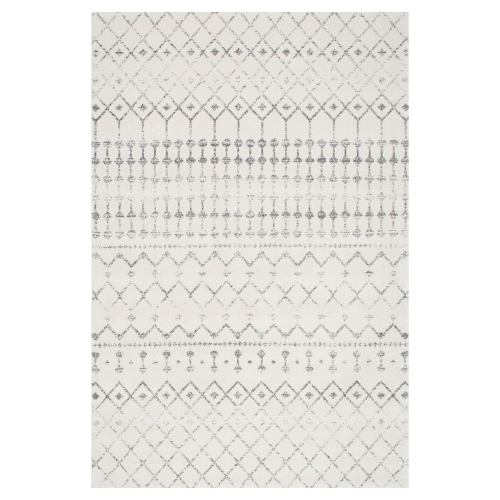 Sterling Gray Abstract Loomed Area Rug - (9'x12') - nuLOOM, Grey