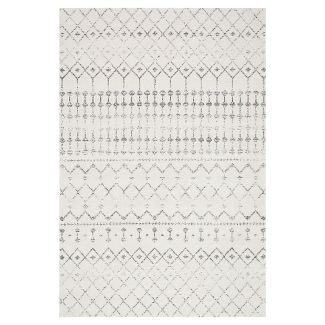 Sterling Gray Solid Loomed Area Rug - (5x75u0022) - nuLOOM