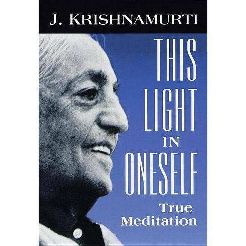 This Light in Oneself - by  J Krishnamurti (Paperback) - image 1 of 1
