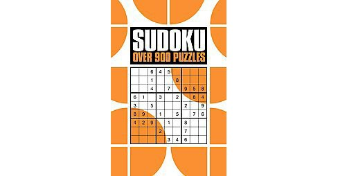 Sudoku : Over 900 Puzzles (Paperback) - image 1 of 1