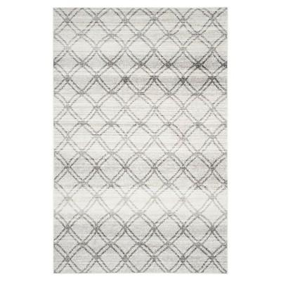 Adirondack Rug - Silver/Charcoal - (6'x9')- Safavieh