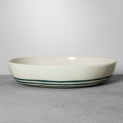Stoneware Serving Bowl - Blue Stripe - Hearth & Hand™ with Magnolia