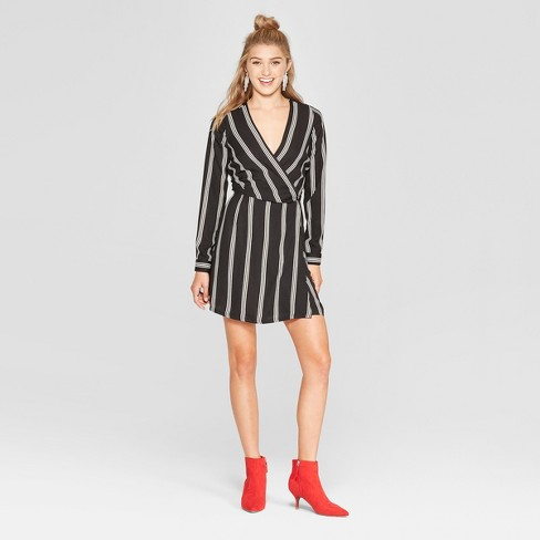 Women's Long Sleeve Wrap Dress - Xhilaration™ - image 1 of 2